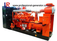 50 / 60HZ Biogas Generator 10 - 800kw Natural Gas Generators with 1500 / 1800rpm , AC Three Phase