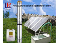 4 Inches Solar Agricultural Water Pump System With Solar Panel / Controller