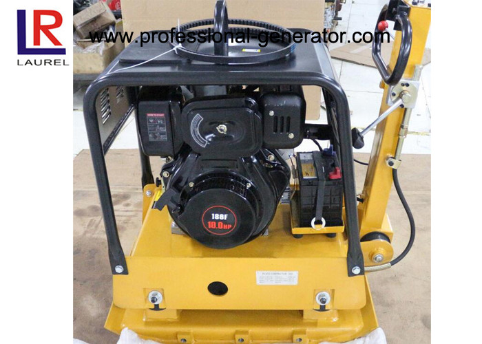 Road Construction Gasoline Vibrating Plate Compactor with Hydraulic Control