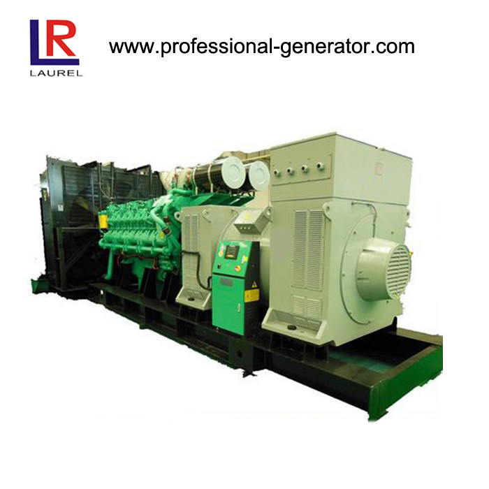 16 Cylinders 2000kVA  Diesel Powered Generator Set with 3 Phase Self Starting Diesel Engine
