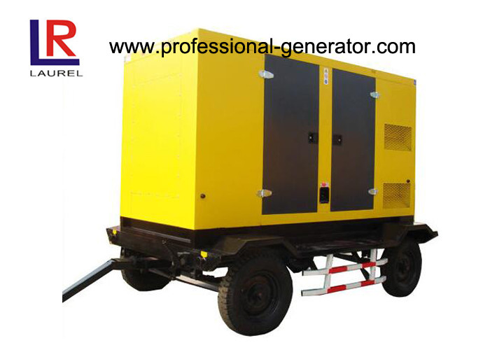 Trailer Type Diesel Generating Mobile Power Generator 100kva 80kw Soundproof with CUMMINS Engine