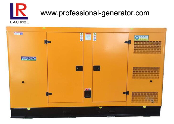 Direct Injection 400kw 500kVA Electric Silent Diesel Generator Set with 4 Stroke