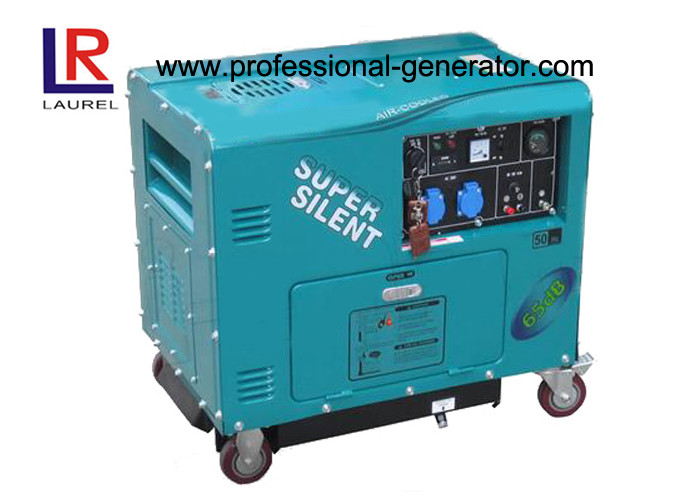 CE 4.2kw Diesel Generator , Self Excited 2 Pole Single Phase Alternator