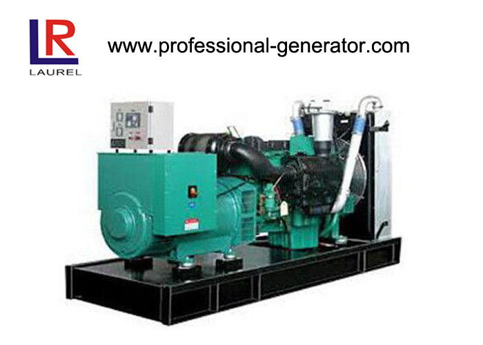 Water Cooling Silent Open Diesel Generator sets 35kW or Biogas / Gas / Natural Gas Transistor Magneto Start