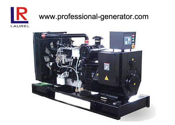 AC Three Phase Perkins Open Diesel Generator Set Low Oil Pressure Electric Starter