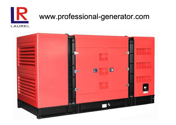 Air-Cooled Silent Diesel Generator Set 10KW 50 Hz / 60 Hz for Home Use Machinery Start