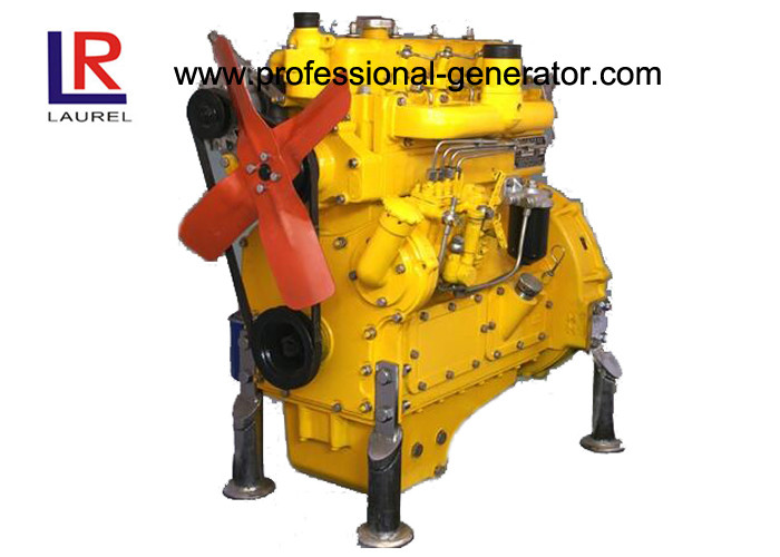 Small Industrial Diesel Engines 8kw - 300kw with Water Cooled Electric Starting Multi cylinder
