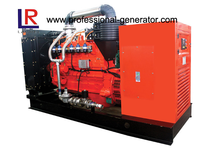 Wet Cylinder 400V 120kw Industrial Natural Gas Generators with 3 Phase 4 Wire Wind - cooling Alternator
