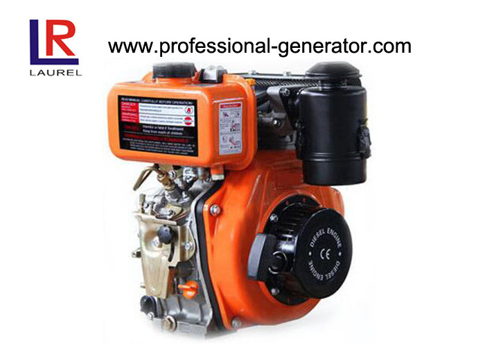 Air-cooled Industrial Diesel Engines Single Cylinder Pump Use Low Fuel Comsuption Recoil or Electric Start