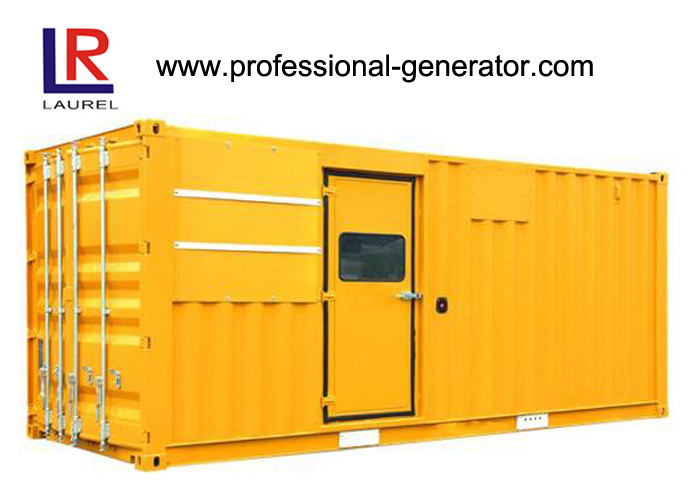 Four Stroke Low Oil Low Noise High RPM Industrial 618kVA Diesel Generating Set