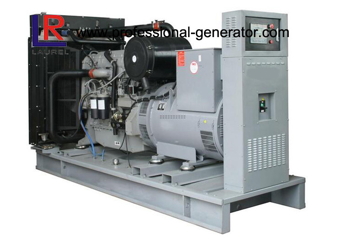 Three Phase Open Diesel Generator 400KW / 500kVA with Electrical Water Cooling