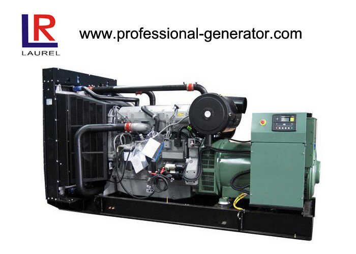 Forced Water Cooling Cycle 240kw 300kVA Open Diesel Generator with Brushless Self - exciting