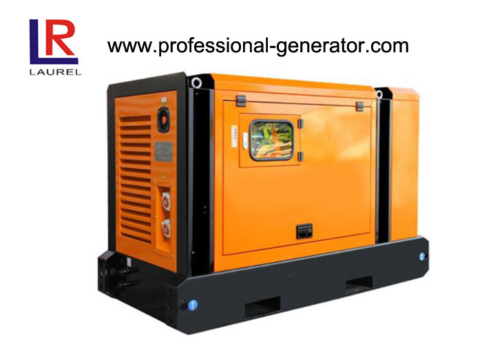 Small 12kw 3 Cylinders Soundproof Electric Diesel Generator with AVR Automatic Voltage Regulating