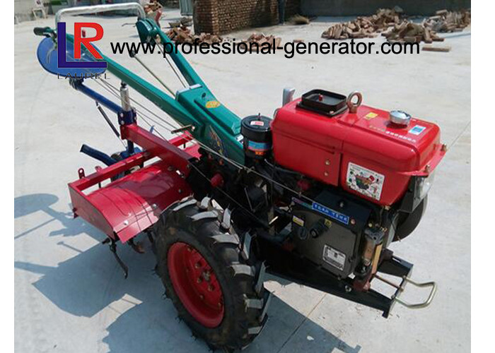 Agriculture 10HP Farm Walking Tractor 8.02KW with Water Cooled Diesel Engine 2400 RPM
