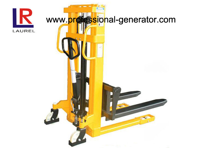 Lift Height 3000mm Warehouse Material Handling Equipment Manual Hydraulic Mini Stacker