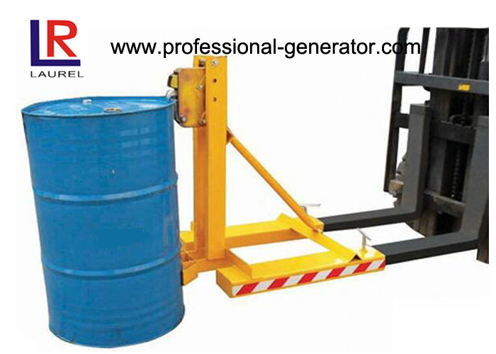 Single Drum Mounted Warehouse Material Handling Equipment 360KGS Drum Grab Forklift