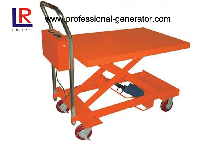 Heavy Duty Hydraulic Mini Scissor Small Electric Lift Table 860MM Lift Height