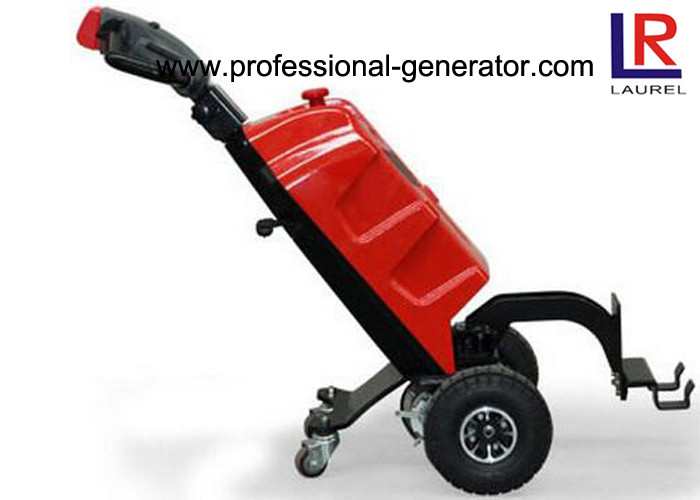 Narrow Space Material Handling Equipment 1000kg Capacity Mini Electric Walkie Tow Tractor