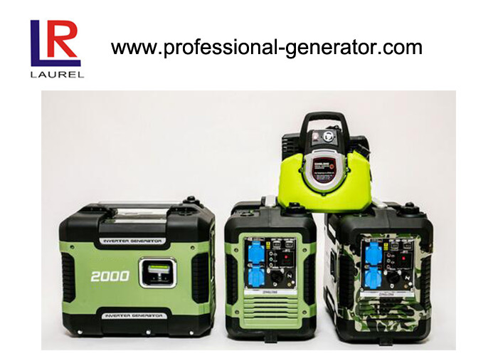 4-stroke Gasoline 2kw Portable Digital Inverter Generator Silent Model with AC Single Phase